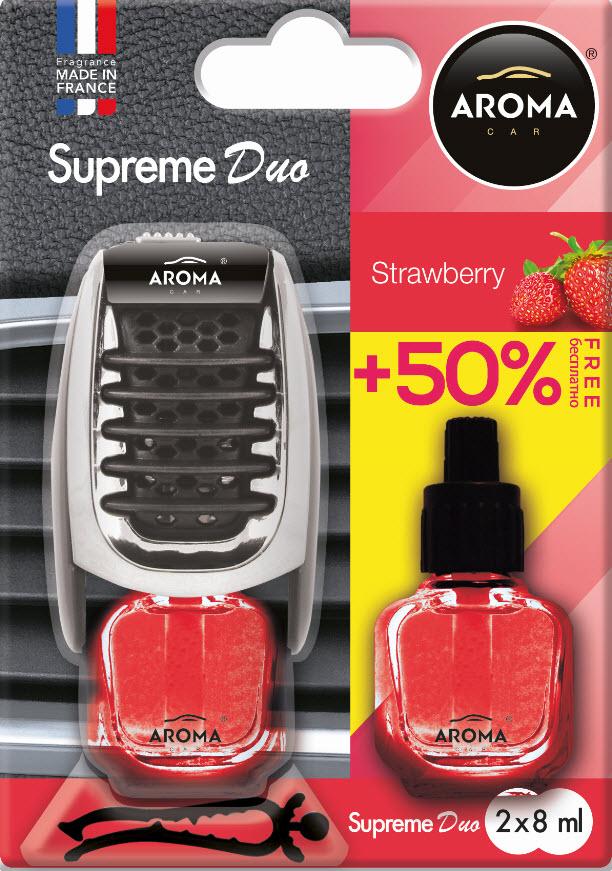 ODORIZANT MTM Aroma Car Supreme Duo2 x strawberry 8ml