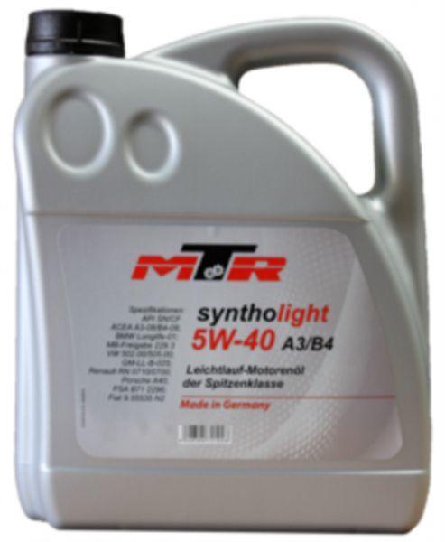 Ulei motor MTR Syntholight 5W-40 5L
