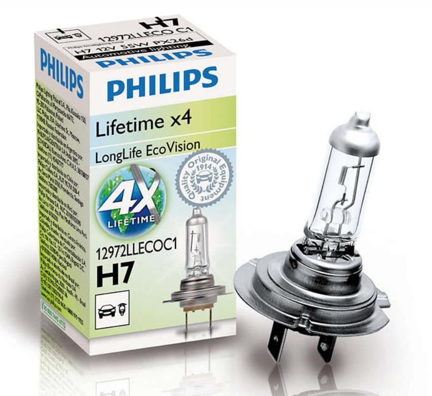 BEC AUTO PHILIPS 12972LLECOC1 H7 12V 55W