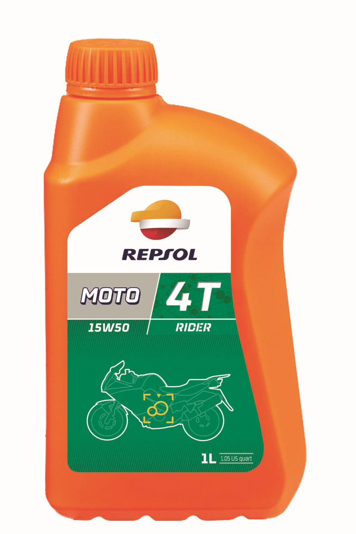ULEI MOTO REPSOL 4 TIMPI RIDER 15W50 1L