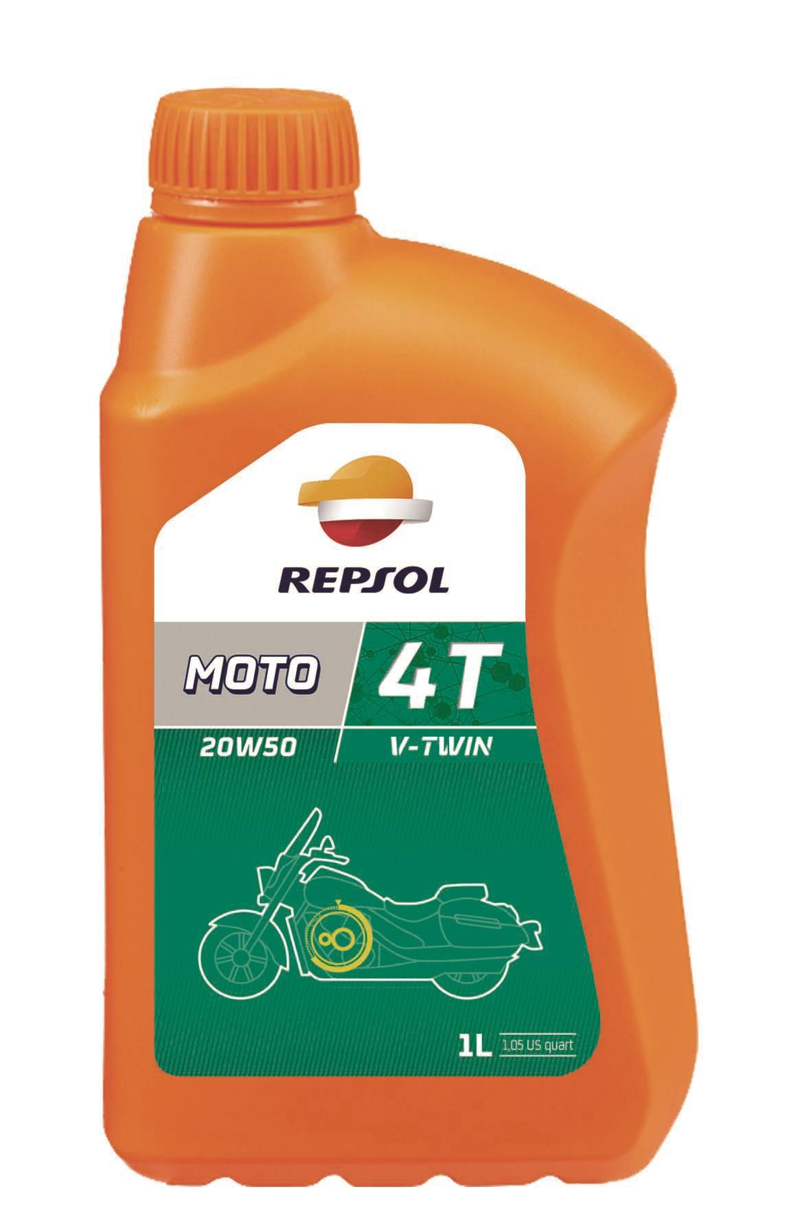 ULEI MOTO REPSOL 4 TIMPI V-TWIN 20W50 1L