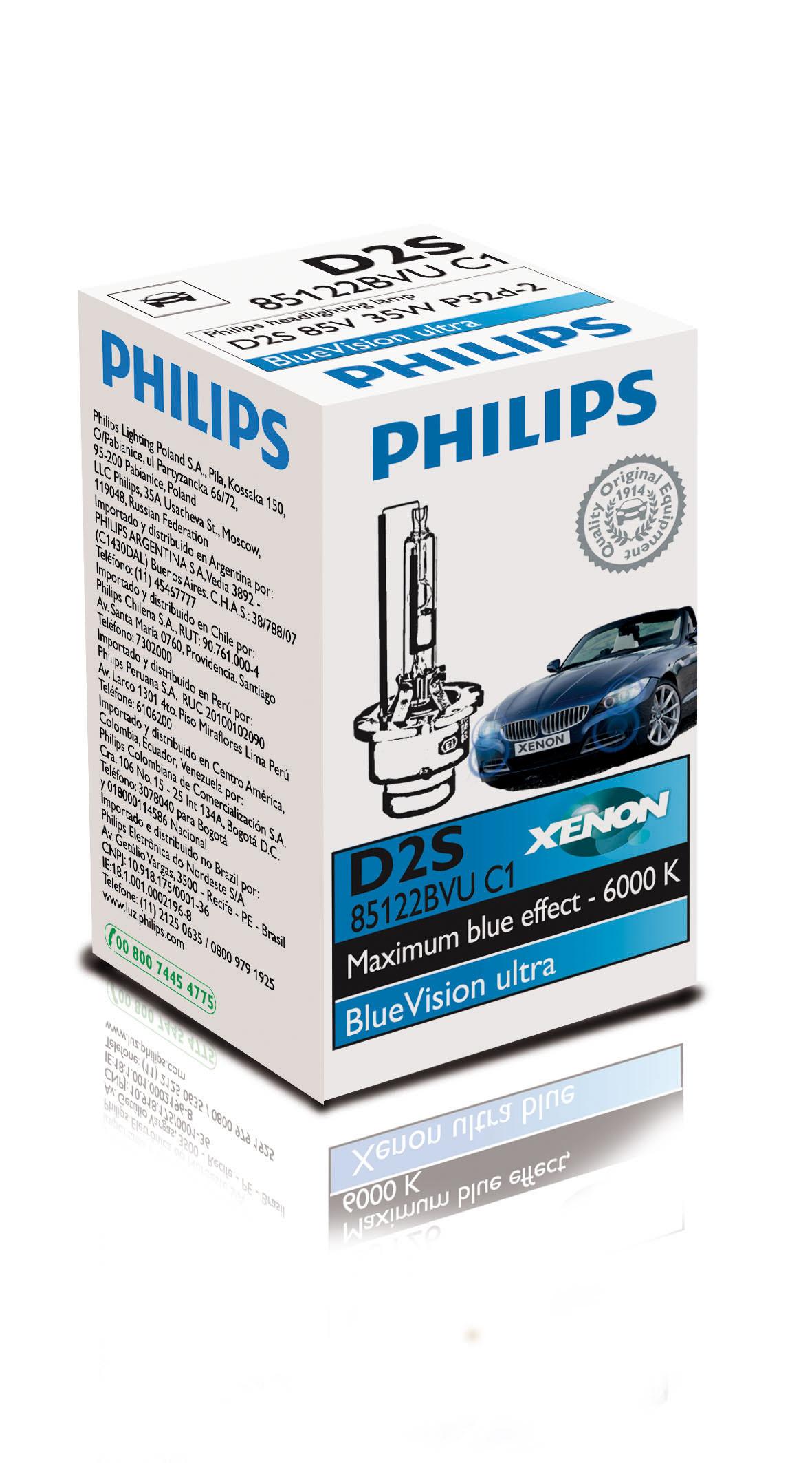 BEC AUTO PHILIPS XENON 85122BVUC1 D2S 85V 35W