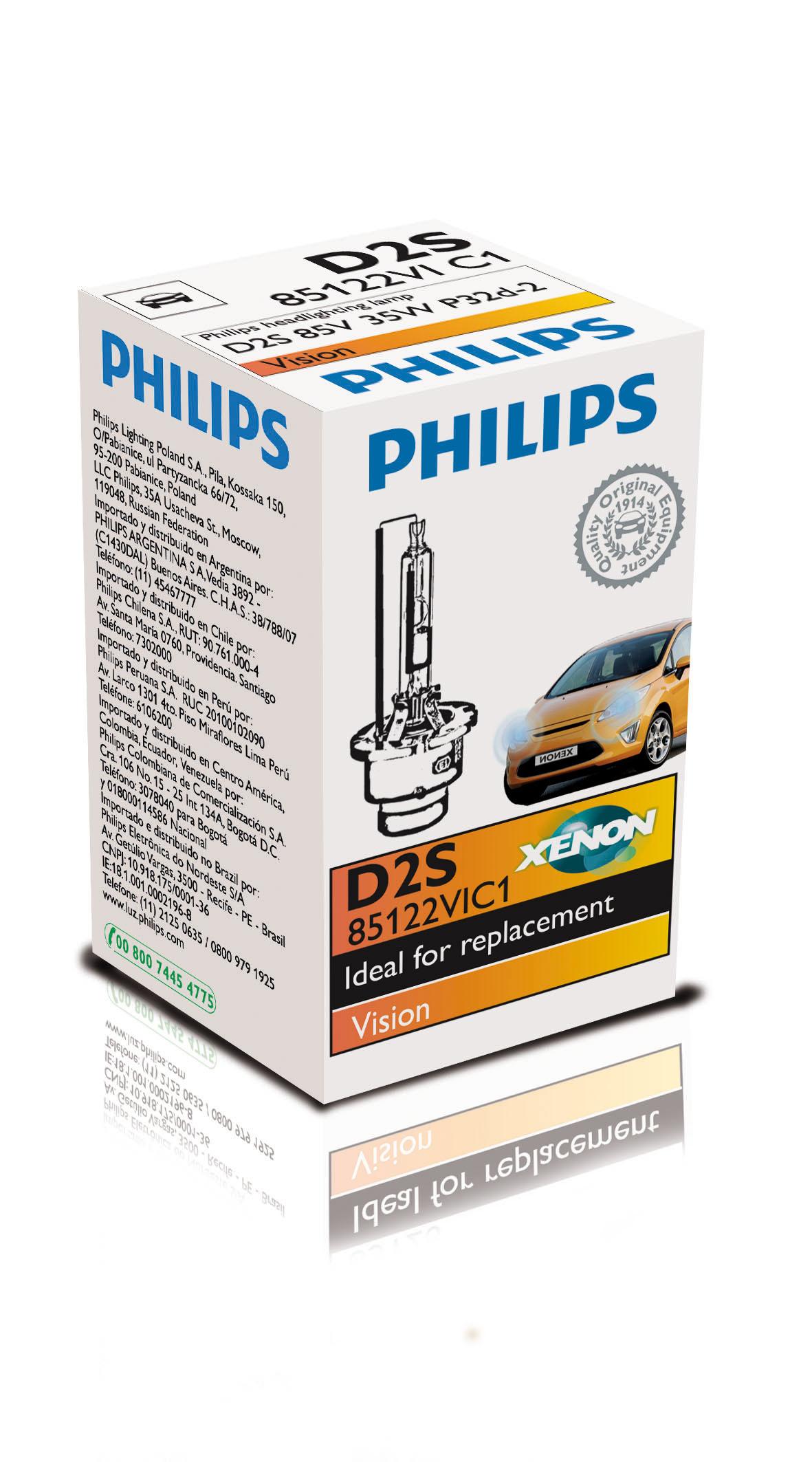 BEC AUTO PHILIPS XENON 85122VIC1 D2S 85V 35W