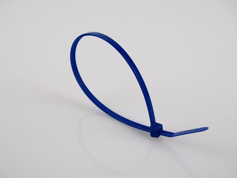 Set coliere plastic MAMMOOTH (100 buc.) TKBL 300/3.6 albastru