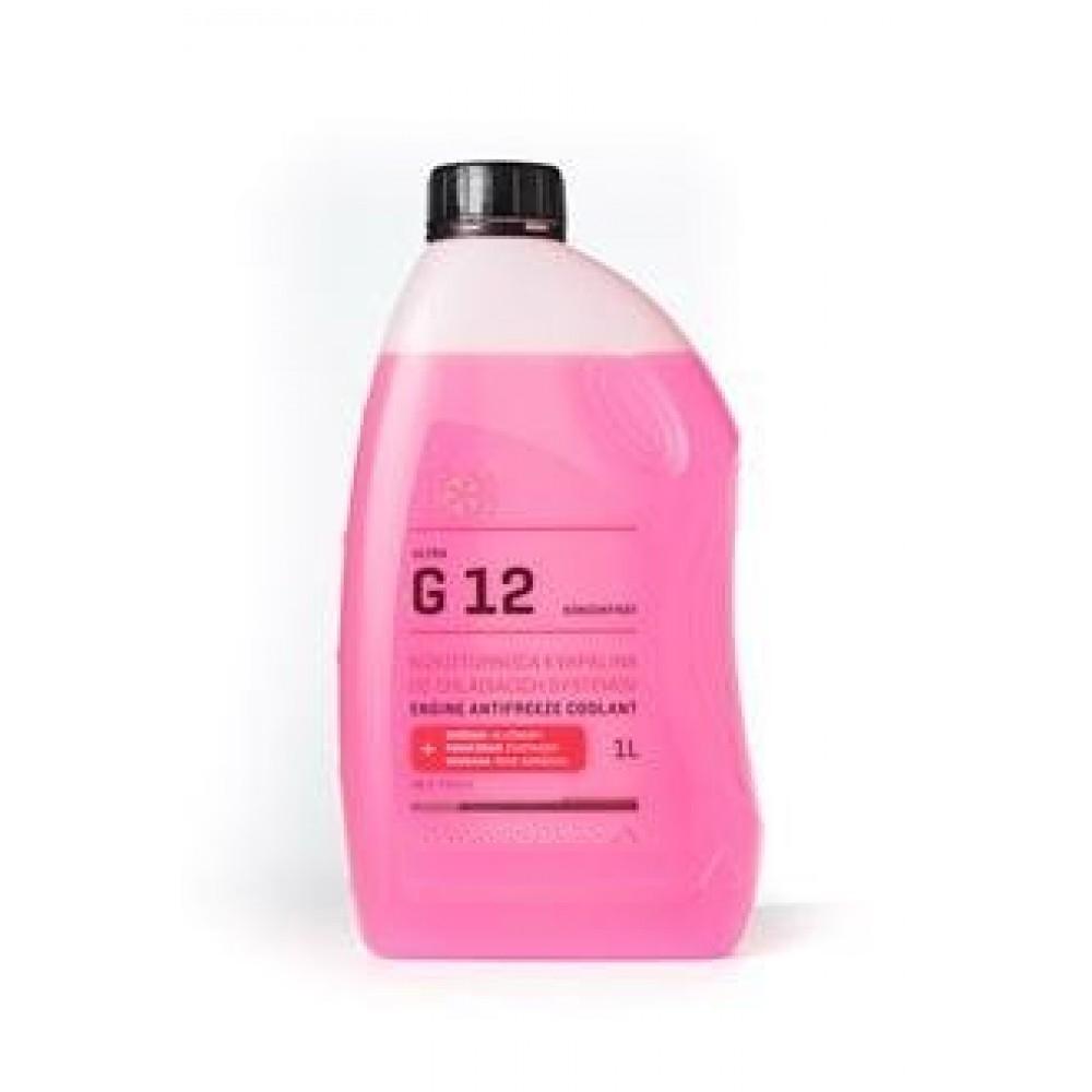 Antigel concentrat DRIVEMAX G12 ROZ 1L