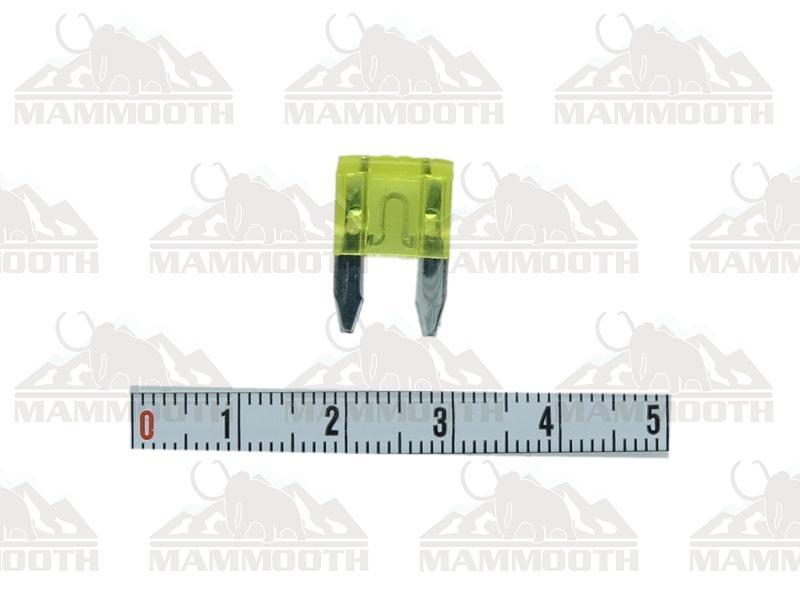 SET SIGURANTE MINI MAMMOOTH 20A (100 buc)  0020A/K100