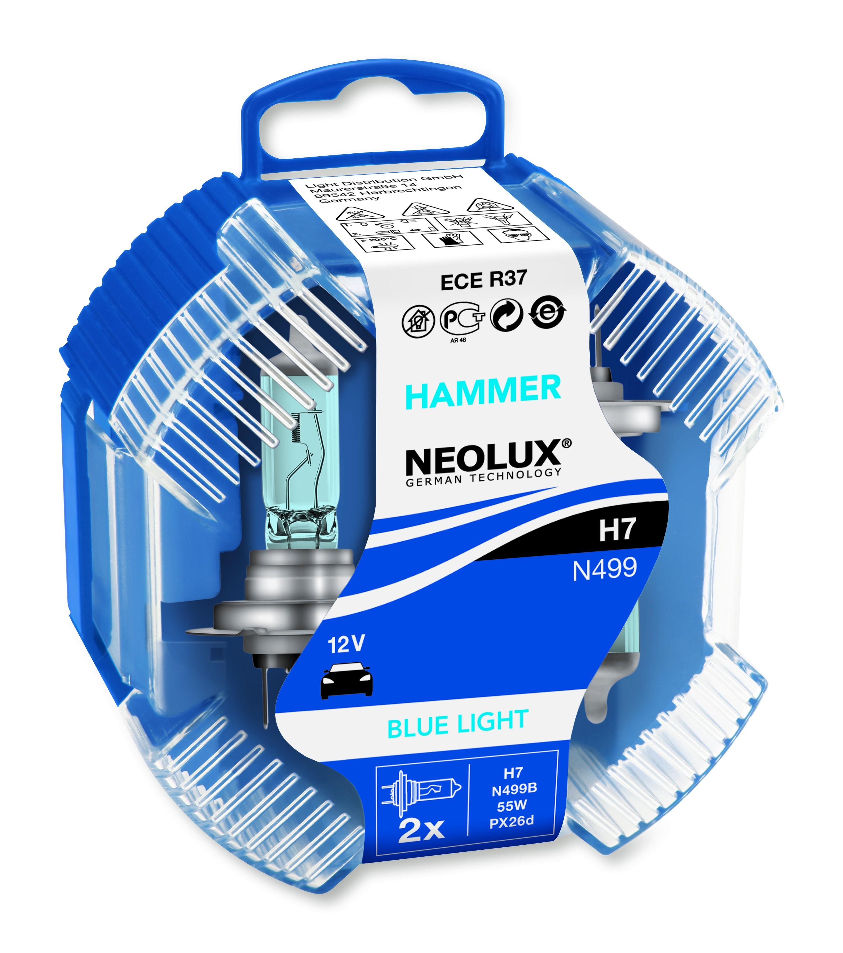 BEC AUTO HALOGEN NEOLUX N499B H7 12V 55W