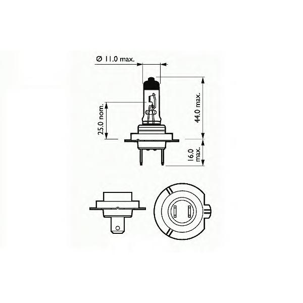BEC AUTO SCT Germany H7 12V 55W
