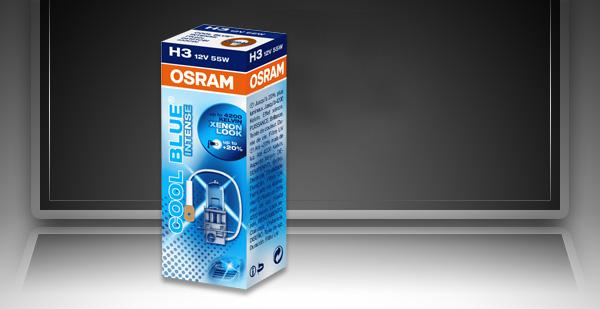BEC AUTO HALOGEN OSRAM 64151CBI H3 12V 55W