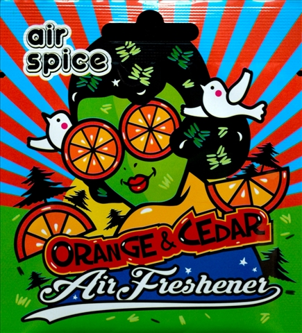 ODORIZANT AIR SPICE ORANGE & CEDAR