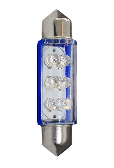 BEC AUTO MAMMOOTH C5W 41mm 12V 1,2W LED FLUX