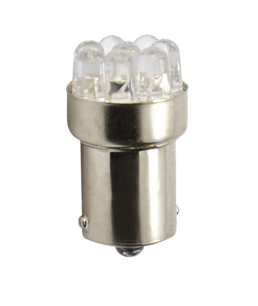 BEC AUTO MAMMOOTH R5W 5mm 12V 12W LED FLUX