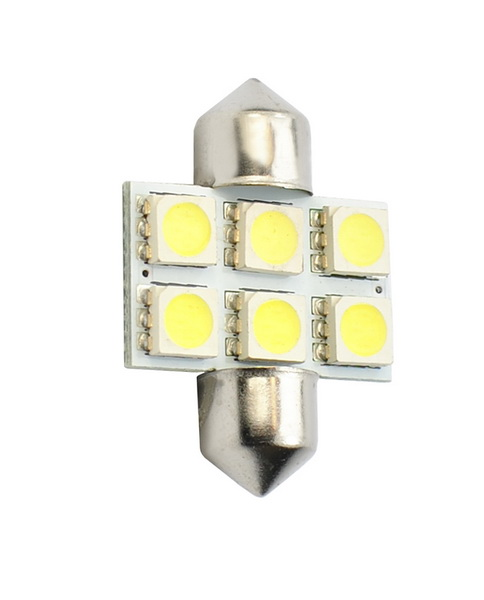 BEC AUTO MAMMOOTH C5W, 31mm 12V 6x SMD5050