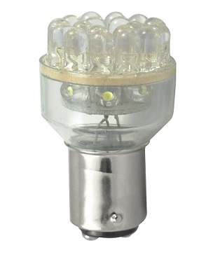 BEC AUTO MAMMOOTH P21/5W 5mm 12V 24x FLUX LED
