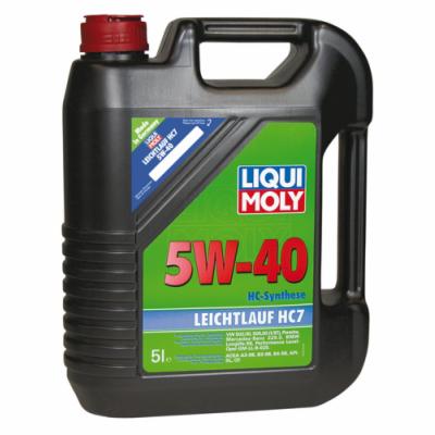 ULEI MOTOR LIQUI MOLY 1347 LEICHTLAUF HC7 5W40 5L