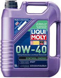ULEI MOTOR LIQUI MOLY 1361 SYNTHOIL ENERGY 0W40 5L