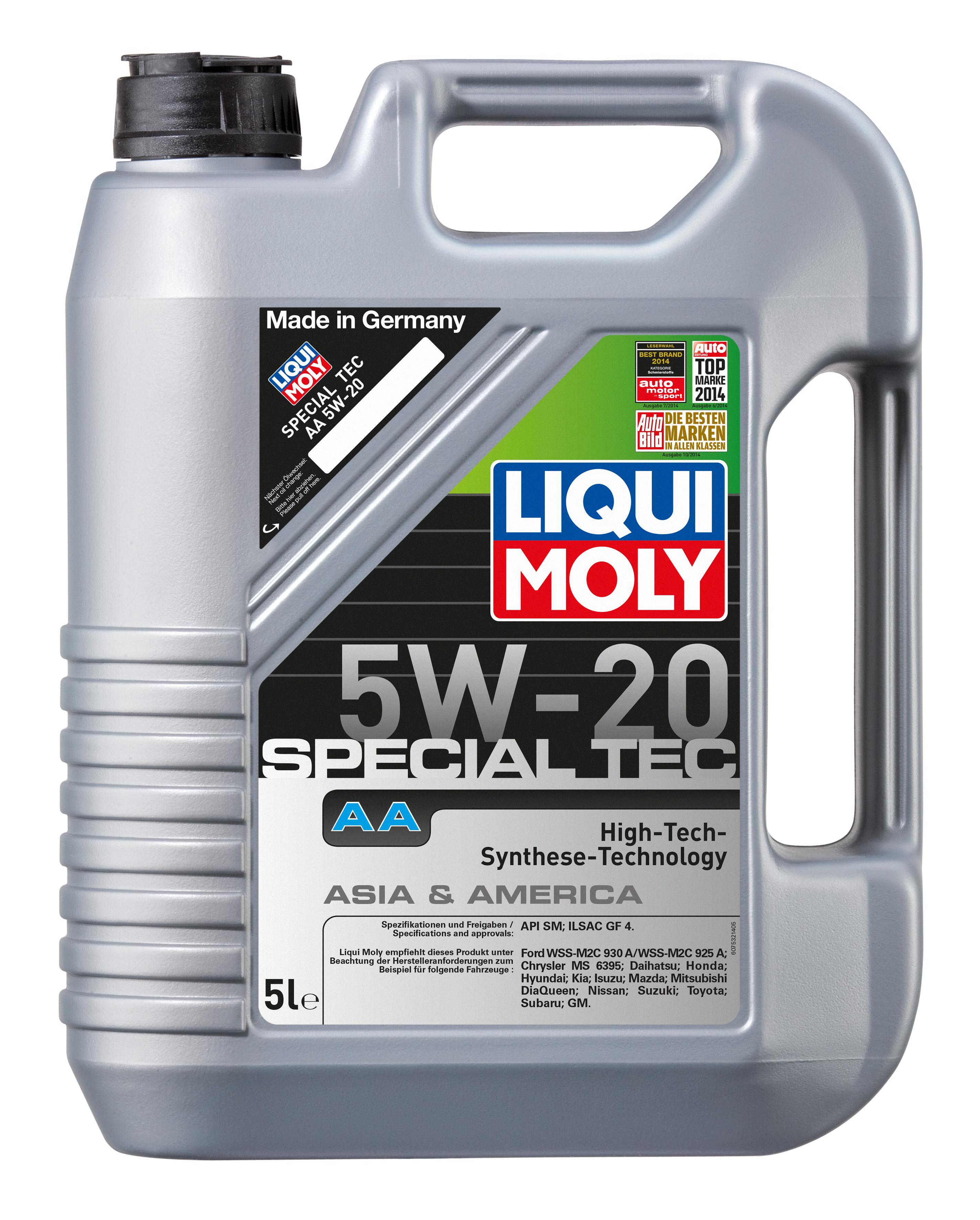 ULEI MOTOR LIQUI MOLY SPECIAL TEC AA 5W20 5L