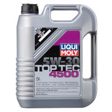 ULEI MOTOR LIQUI MOLY TOP TEC 4500 5W30 5L