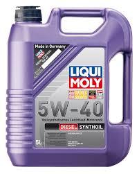 ULEI MOTOR LIQUI MOLY DIESEL SYNTHOIL 5W40 5L