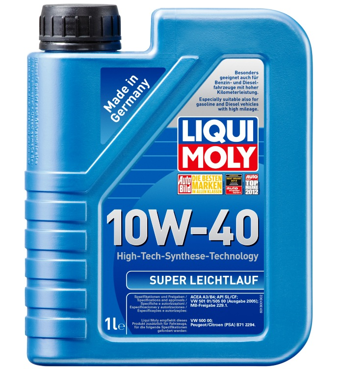 ULEI MOTOR LIQUI MOLY 2624/9503 SUPER LEICHTLAUF 10W40 1L
