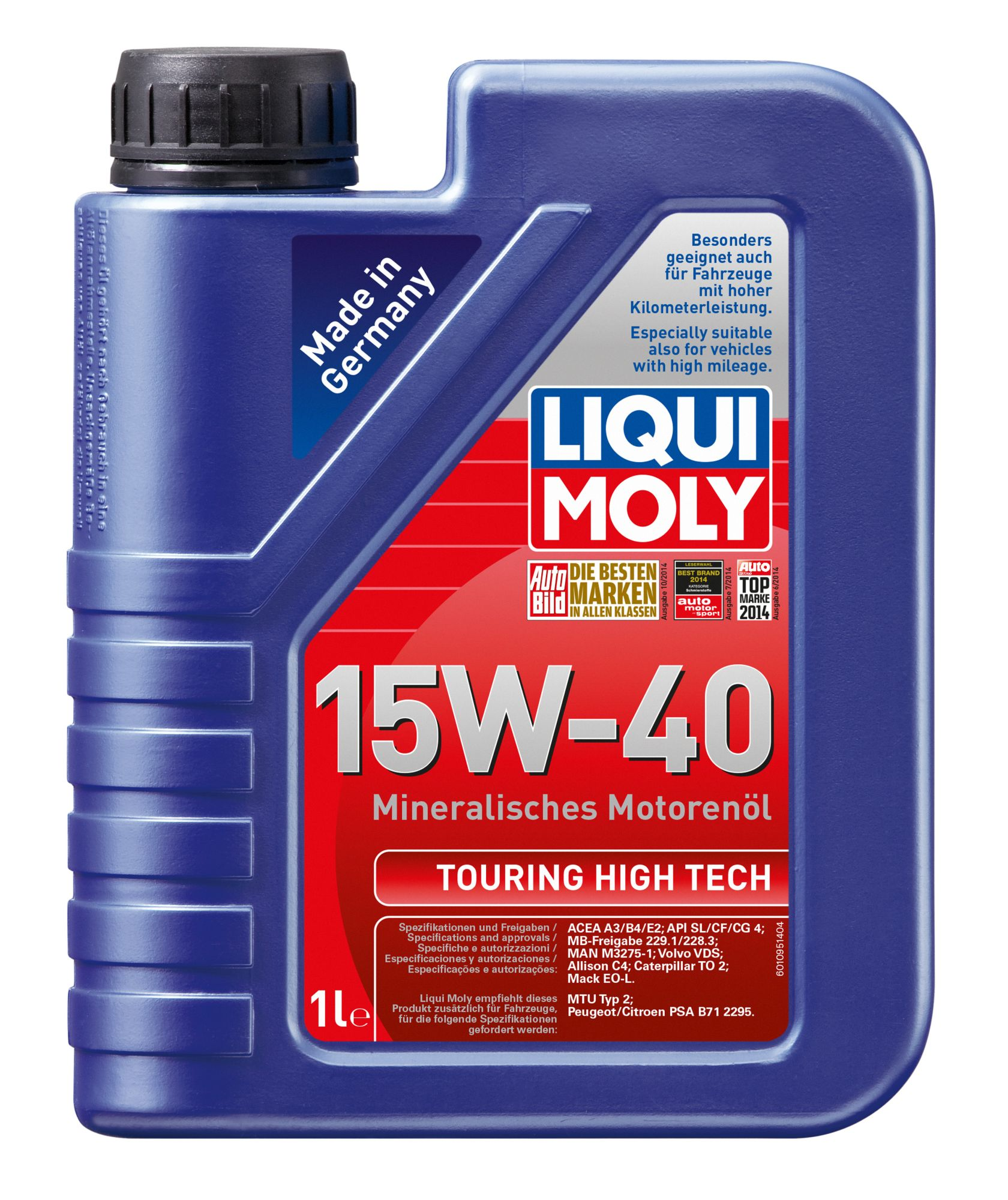 ULEI MOTOR LIQUI MOLY TOURING HIGH TECH 15W40 (1095) 1L