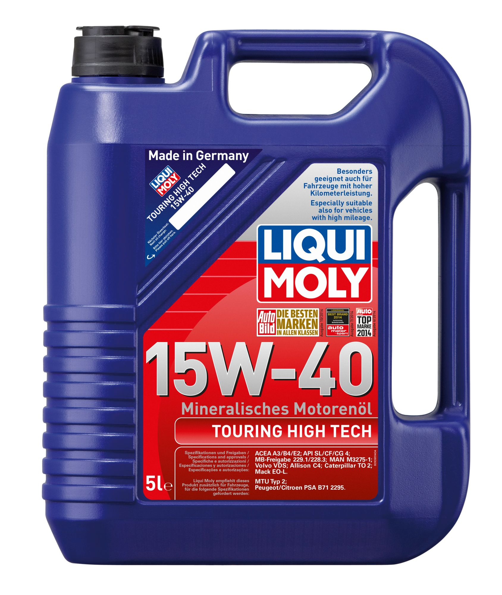 ULEI MOTOR LIQUI MOLY TOURING HIGH TECH 15W40 (1096) 5L