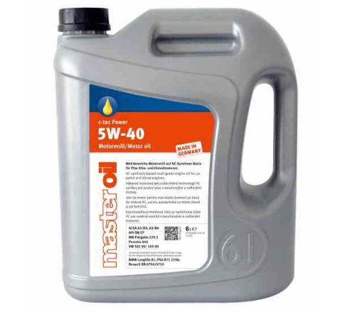 ULEI MOTOR MASTER OIL C-TEC POWER 5W40 5L