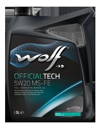 ULEI MOTOR WOLF OFFICIALTECH MS-FE 5W20 4L