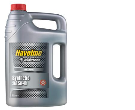 ULEI MOTOR TEXACO HAVOLINE SYNTHETIC 5W40 5L