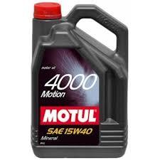 ULEI MOTOR MOTUL 4000 MOTION 15W40 4L