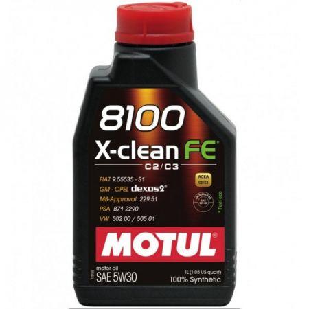 ULEI MOTOR MOTUL 8100 X-CLEAN FE 5W30 1L