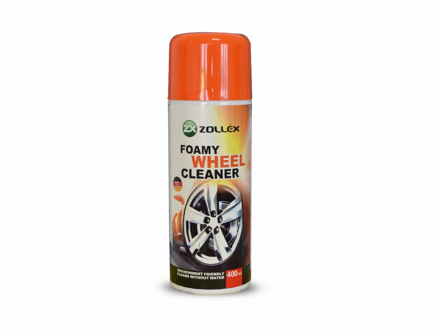 Solutie pentru curatarea jantelor cu spuma ZOLLEX Z10012 BF040Z 400ml