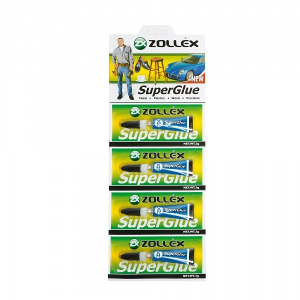 SUPER GLUE ZOLLEX Z15004 Z0708 3g