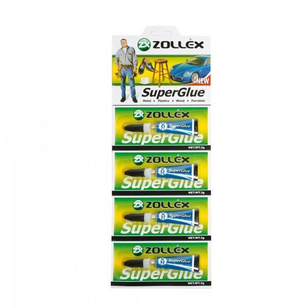 SUPER GLUE ZOLLEX Z15004 Z0708 3g