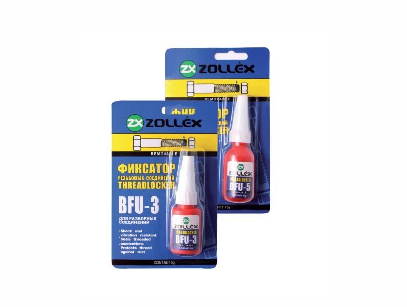 Solutie pentru blocare imbinari filetate (pentru conexiunile demontabile) ZOLLEX Z15008 BFU-5 10g