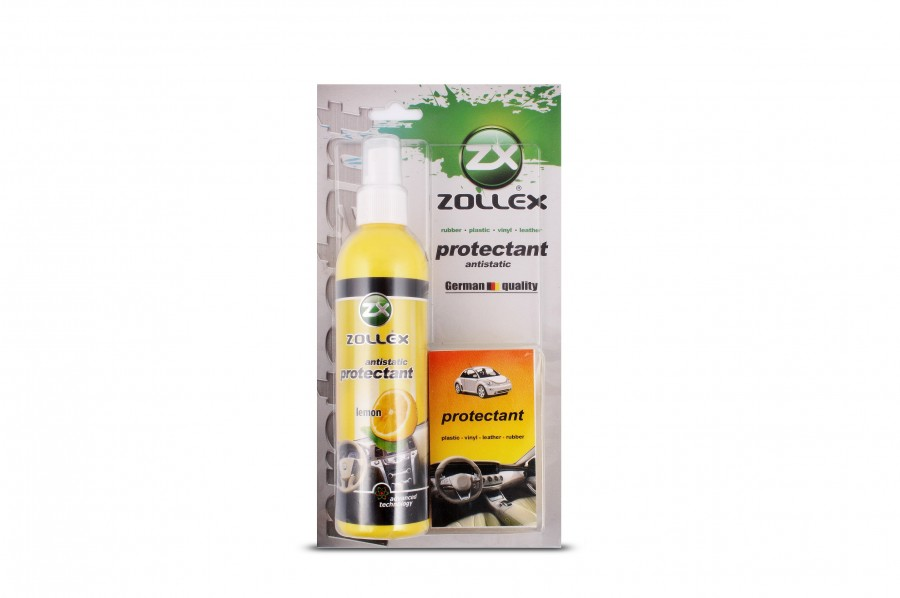 Silicon bord pulverizator cu burete ZOLLEX Z07030 PROTEKTANT (LEMON) MLLE25 240ml