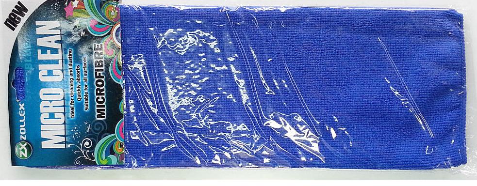 LAVETA MICROFIBRA ALBASTRA ZOLLEX Z08003 ZP-005