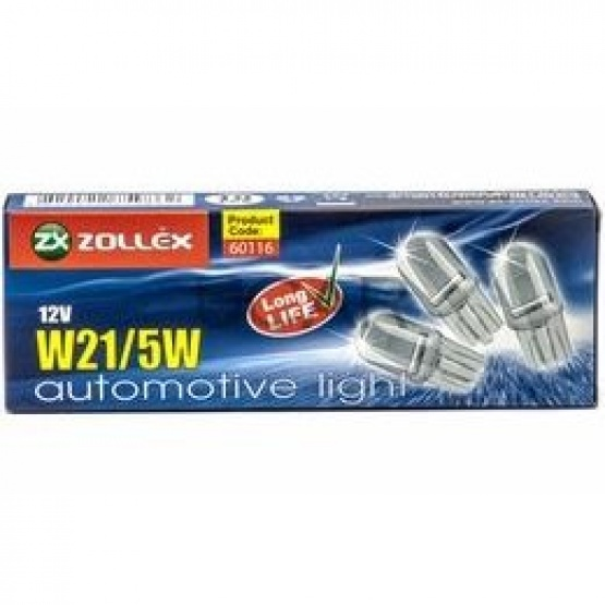 BEC AUTO ZOLLEX Z18011 W21/5W 12V 60116