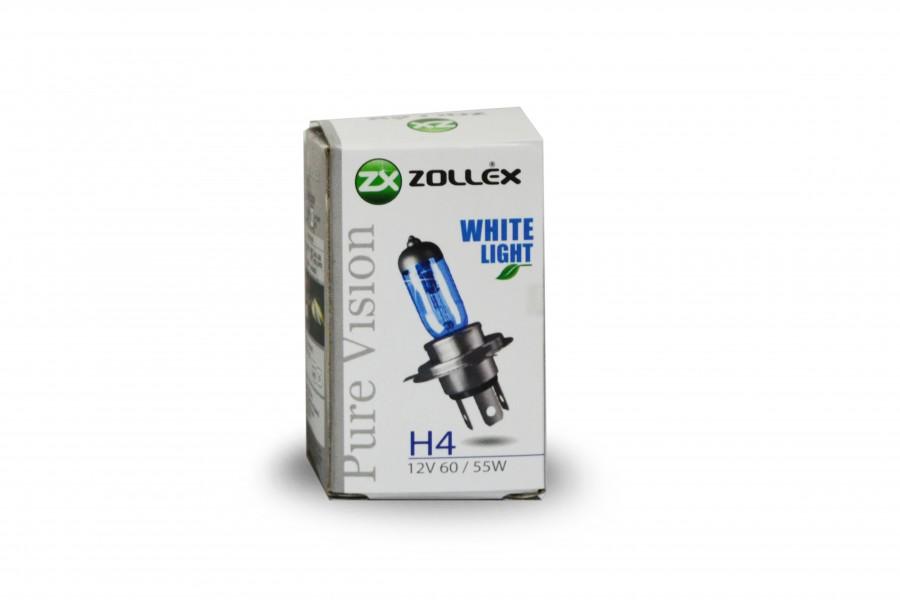 BEC AUTO ZOLLEX Z19002 H4 12V 60/55W PV 61824 Pure vision (blue)