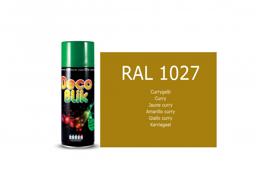 Vopsea acrilica ZOLLEX Z01021 DECO BLIK RAL 1027 Curry 450ml