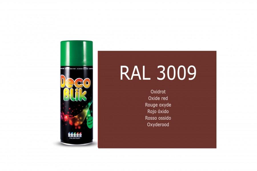 Vopsea acrilica ZOLLEX Z01036 DECO BLIK RAL 3009 Oxide red 400ml
