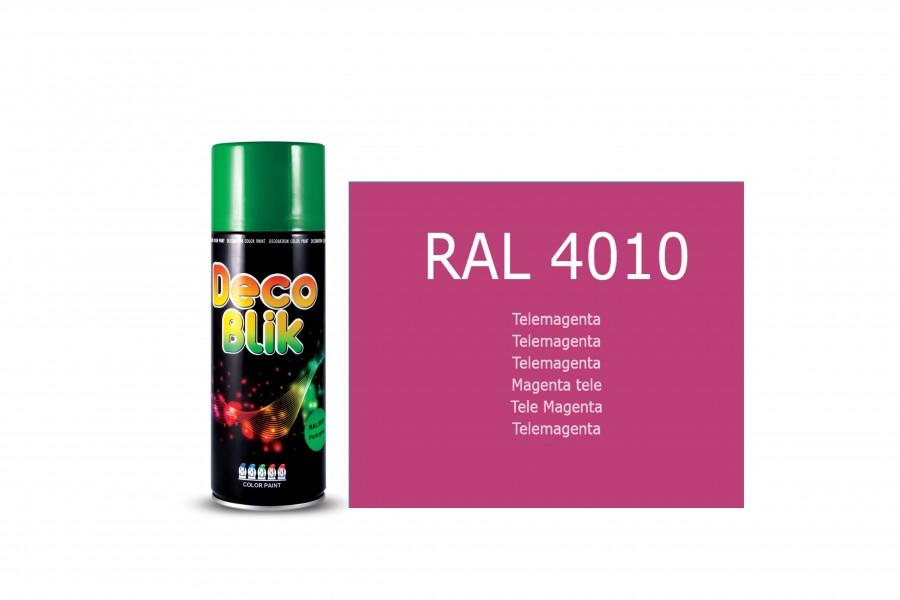 Vopsea acrilica ZOLLEX Z01049 DECO BLIK RAL 4010 Telemagenta 450ml