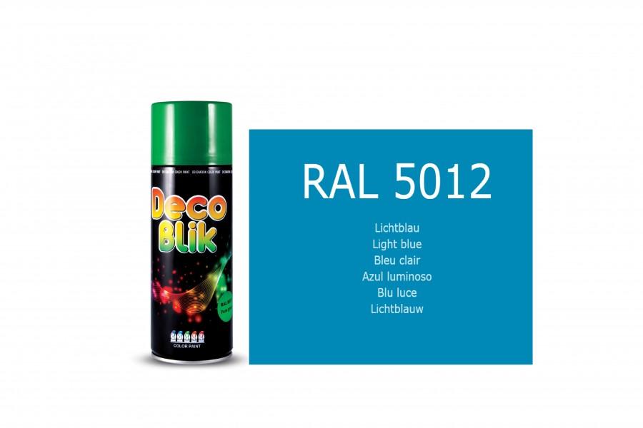 Vopsea acrilica ZOLLEX Z01054 DECO BLIK RAL 5012 Blue 450ml