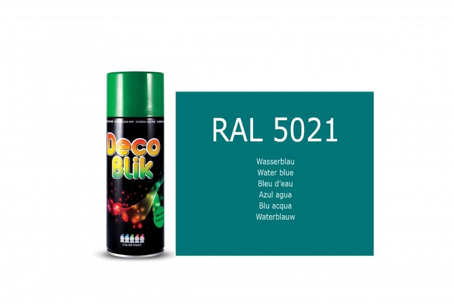 Vopsea acrilica ZOLLEX Z01058 DECO BLIK RAL 5021 Water blue 450ml