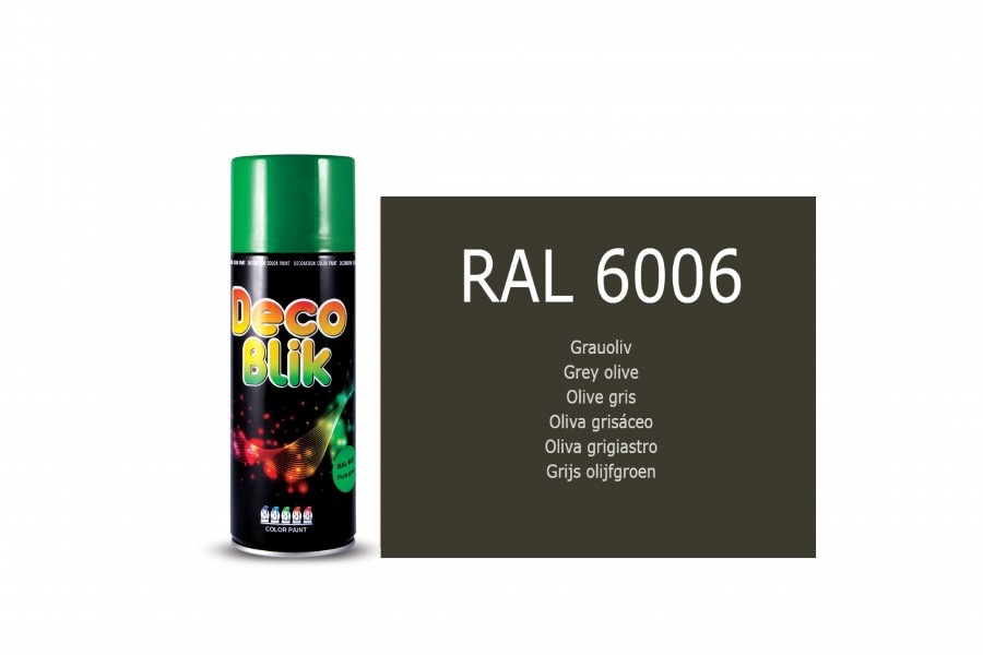 Vopsea acrilica ZOLLEX Z01065 DECO BLIK RAL 6006 Grey olive 400ml