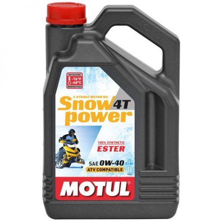ULEI MOTOR MOTOCICLETA MOTUL SNOWPOWER 4T 0W40 4L