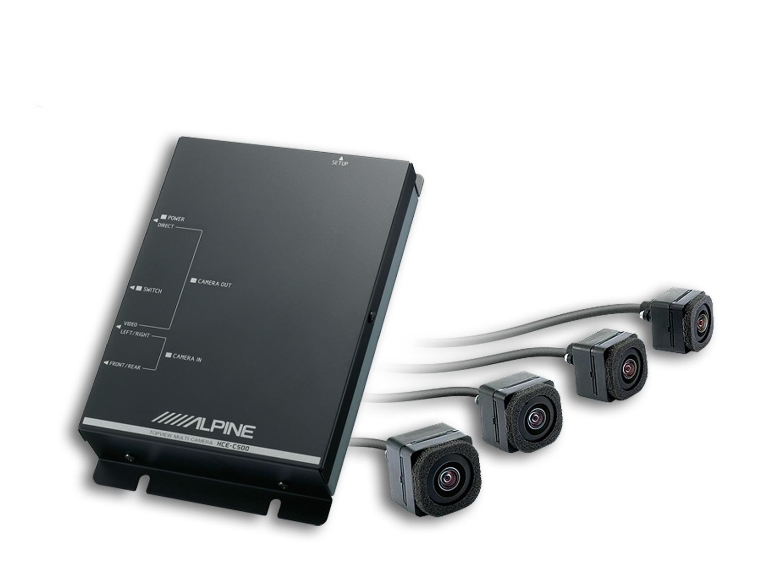 Sistem 4 camere ALPINE HCE-C500X5 pentru BMW X5 (2006-2009)