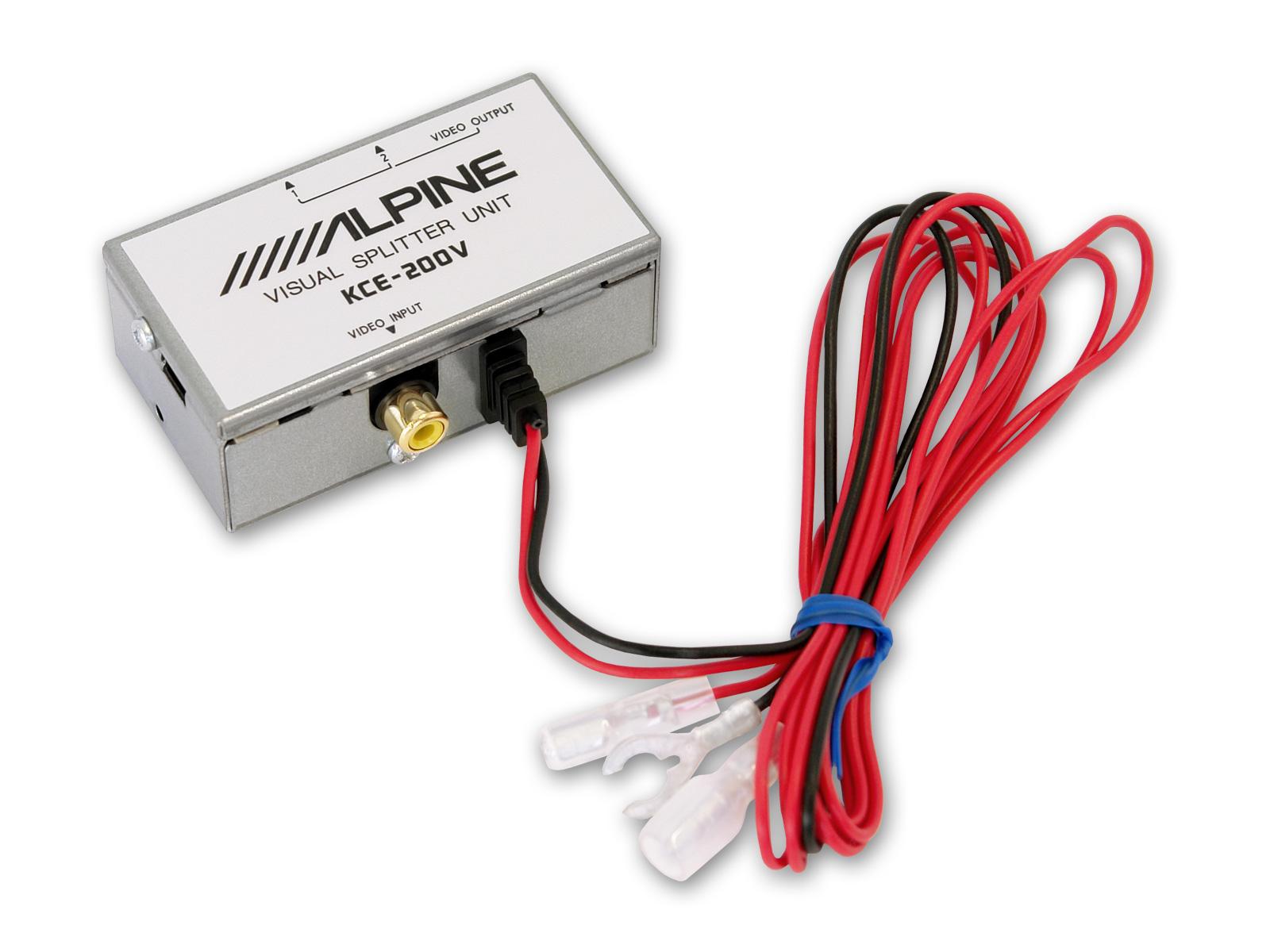 Splitter semnal video Alpine KCE-200V