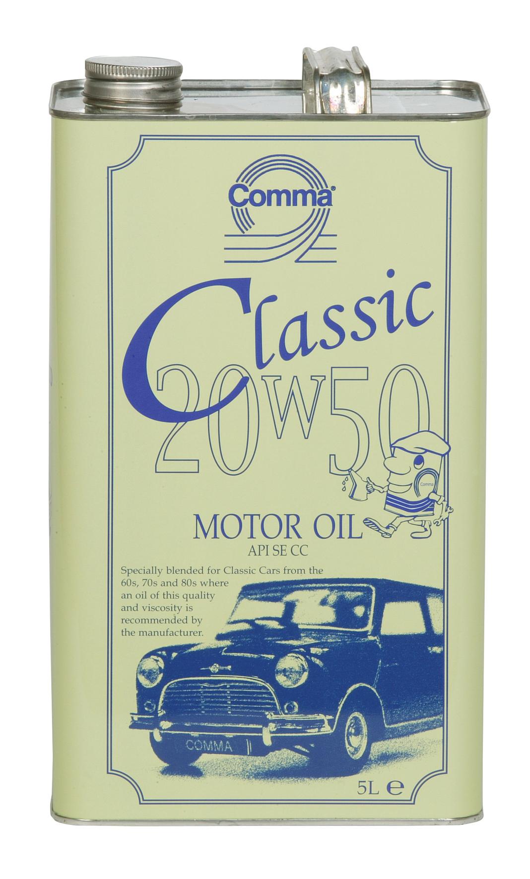 ULEI MOTOR COMMA CLASSIC MOTOR OIL 20W50 5L