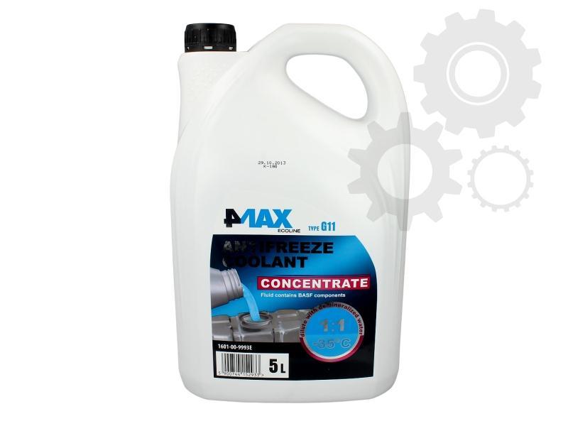 Antigel concentrat 4MAX G11 Albastru 5L